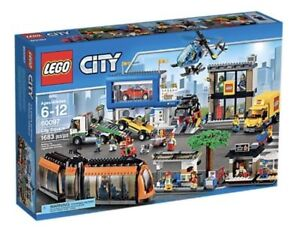 ** LEGO SET CITY 60097 City Square FACTORY SEALED NEW IN BOX