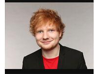 4 x ed sheeran tickets