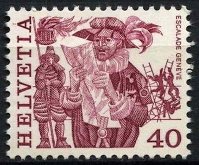 Switzerland 1977-84 SG#943, 40c Regional Folk Customs Definitive MNH #D45606
