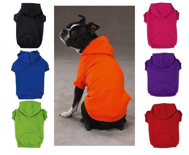 ZACK & ZOEY HOODIE Dog Basic Sweatshirt Shirt Sweater Winter Clothes US SELLER