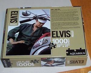 Elvis jigsaw puzzle box (small) – ONLY $5 London Ontario image 2
