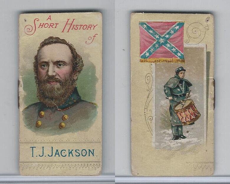N78 Duke, Histories of Generals, Civil War, 1889, Jackson, Stonewall T.J.