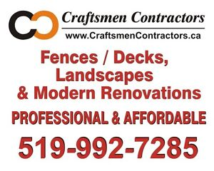 Privacy fences, beautiful decks and landscapes Windsor Region Ontario image 10