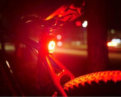 COB LED Fahrradlicht Fahrrad Rücklicht Blinker  USB Wiederaufladbar  ()