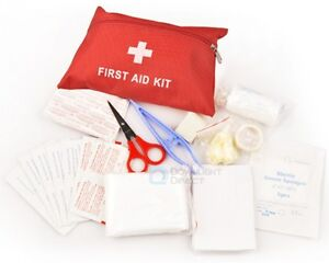 One-Set-First-Aid-Kit-Cross-Carry-Bag-Pouch-Tool-Camping-Car-Emergency-Survival