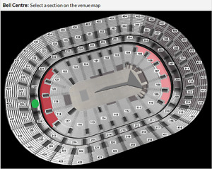2 BILLETS THE WEEKND SECTION 219 (20% RABAIS)