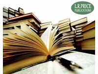EDITING AND PUBLISHING SERVICES FOR BOOKS AND MANUSCRIPTS BY UNKNOWN AUTHORS AND WRITERS