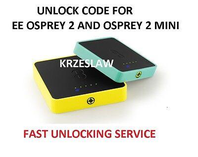 Unlock code for Osprey 2 mini 3 Y853 4GEE Y854 Y854VB Y853VB EE40VB EE60VB EE70