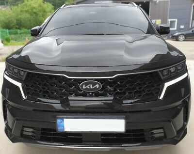 Metal Front Hood Rear Trunk Emblem For 2020 2021+ Kia Sorento(Type-C)