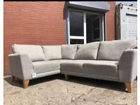 Grey NEXT Corner sofa delivery 🚚 sofa suite couch furniture
