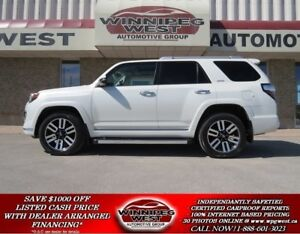 2015 Toyota 4Runner LIMITED 4X4 **7 PASS** ALL OPTIONS, LOW KMS,