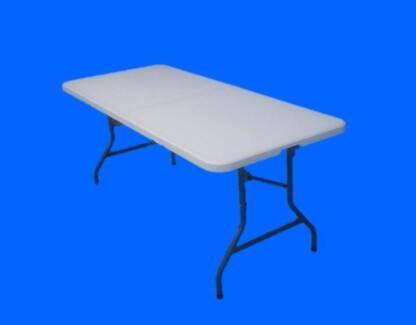 6 FT Plastic Folding Tables