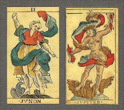 BESANCON MARSEILLE TAROT CARD DECK - REPLICA 1660's BENOIS - LIMITED EDITION