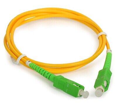 LATIGUILLO fibra óptica SC/APC a SC/APC de 15 METROS DE LARGO el...