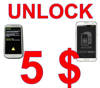 Permanent unlocking with original code, no void warranty, no roo