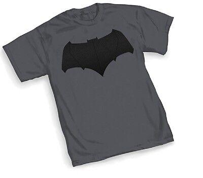 DC Batman vs Superman - BATMAN SYMBOL Logo  - Grey Adult T-Shirt - - Super Man Symbol