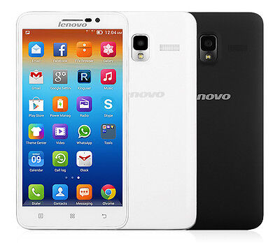 """Lenovo A850+ Smartphone 5.5"""" MTK6592 1.7GHz Octa Core Android 4.2 GPS Wifi White"""