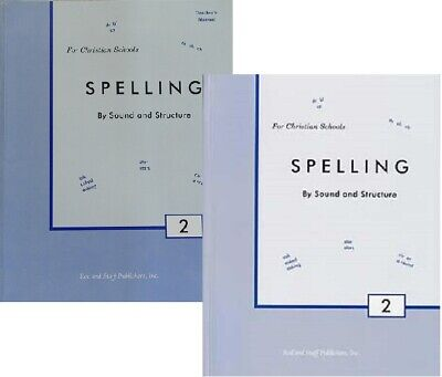 Rod and Staff - Spelling by Sound and Structure Grade 2 SET - Workbook and
