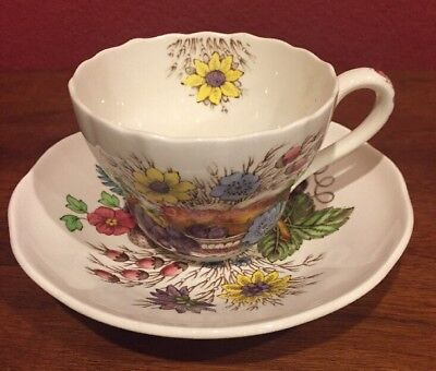 Spode Copeland England Reynolds Cup And Saucer Excellent Condition