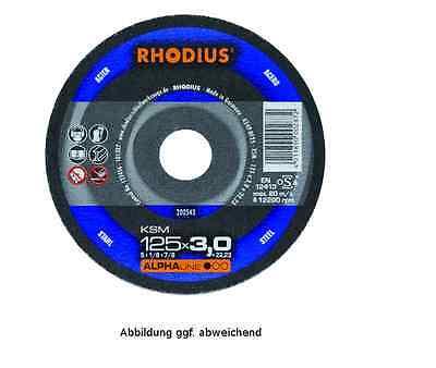 Rhodius Schruppscheibe  KSM  115 x 7 x 22,23 mm # 200013 online kaufen