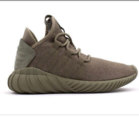 Khaki tubular dawn Adidas trainer