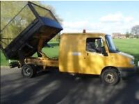 Crewcab Tipper with cage ldv 2003