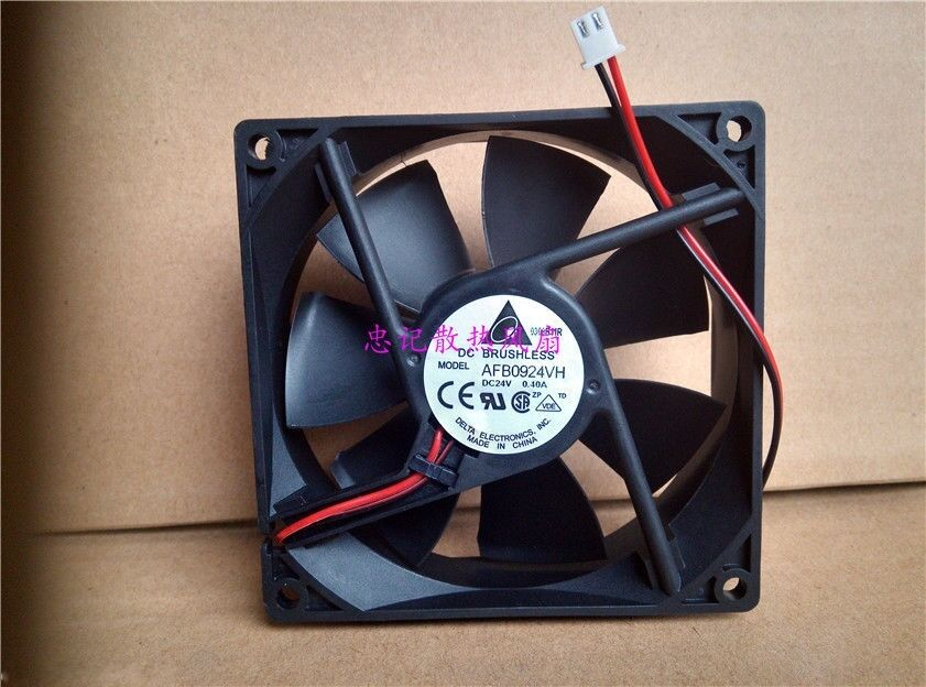 1x Delta AFB0912VH 92x92x25mm DC Brushless Cooler Cooling Fan 12V 0.60A #M752 QL