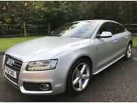 2011 AUDI A5 S LINE TDI AUTO ONLY 66K HPI CLEAR