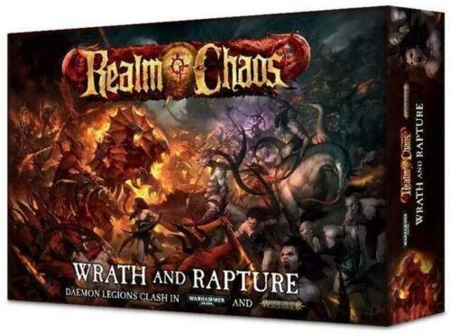 Games Workshop Warhammer Realm of Chaos Wrath & Rapture Boxed Game BNIB Sealed