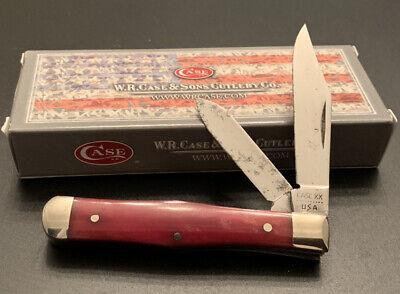 CASE XX 10 DOT 1980 6225 1/2 SR COKE BOTTLE POCKET KNIFE