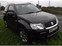 Suzuki Grand Vitara VVT, SUV, 1.6 Petrol, Black, Manual, 3 door Estate, 4 seats,