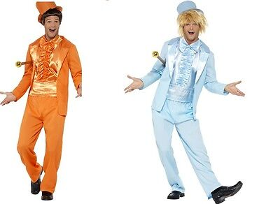 Dumb And Dumber Lloyd Harry Men's Comedy Duo Crazy Suit Costume Film Movie Party (Dumb And Dumber Suit)