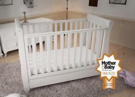 Babymore Eva Sleigh Cot for Sale