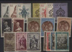 VATICANO-ANNATA-1963-NUOVA