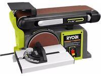 Brand New Ryobi 120-Volt Bench Sander & Disc Sander
