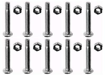 (10) Shear Pins & Bolts For Ariens 51001600 05907100 Snowblowers Snowthrowers