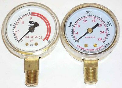 2 Acetylene Regulator Gauge Set For Victor Harris New