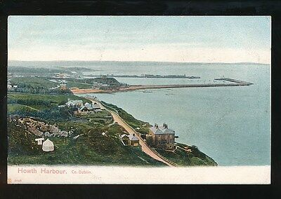 Ireland Co Dublin HOWTH Harbour pre1919 PPC