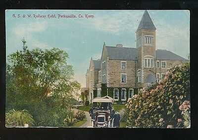 Ireland Co Kerry G&SW Railway Hotel PARKNASILLA 1912 PPC
