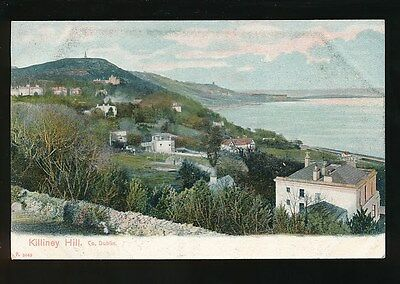 Ireland Co Dublin KILLINEY Hill pre1919 PPC