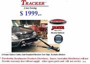 flat towing hitch towing a frames tow bars TRACKER A FRAME Apollo Bay Colac-Otway Area Preview