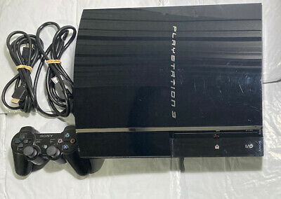 Sony Playstation 3 CECHA01 PS3 60GB Backwards Compatible Gaming Console System