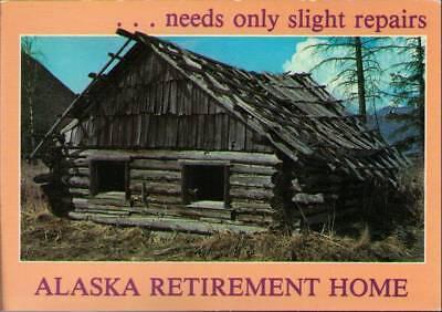 Wbz  Postcard  Alaska Retirement Home