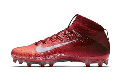 7d5bb24f49e5a Nike Vapor Untouchable 2 Football Cleats 824470-608 Men s US 13 Red NEW  200