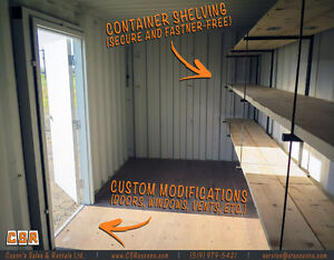 PORTABLE STORAGE CONTAINERS // COXON'S SALES & RENTALS LTD. London Ontario image 8