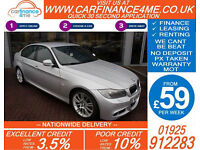 2010 BMW 330D 3.0 TD M-SPORT GOOD / BAD CREDIT CAR FINANCE AVAILABLE