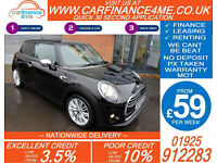 2014 MINI ONE D 1.5 TD GOOD / BAD CREDIT CAR FINANCE FROM 59 P/WK