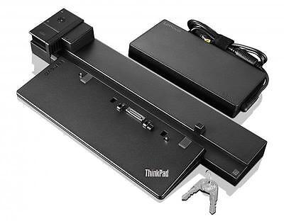 Lenovo 40A50230EU ThinkPad WorkStation Dock & 230 Watt Netzteil & Schlüssel
