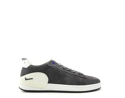 Shoes VESPA Man Sneakers trendy GREY Suede V00005-300-97