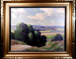 William John Hopkinson -- vintage Canadian oil painting